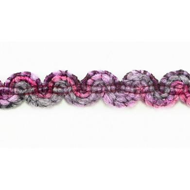 Pasamanería tonalidades lilas 1,5 cm