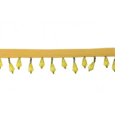 Flecos abalorios maderitas 4 cm