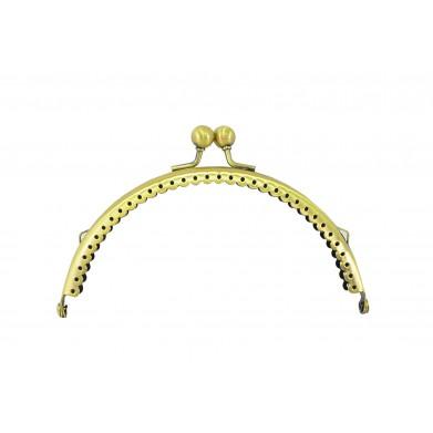 Boquilla monedero oro viejo 12,5 cm