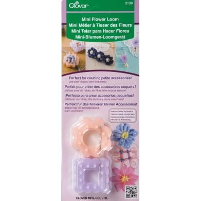 Mini telar para hacer flores