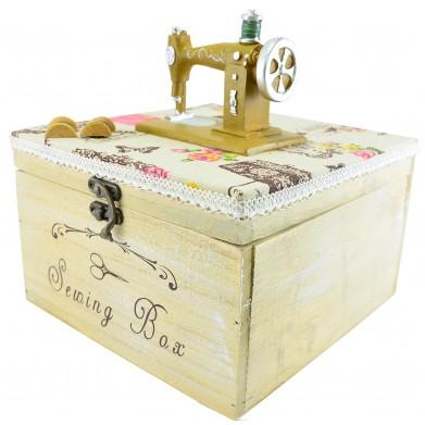 Costurera máquina coser