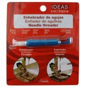 Enhebrador agujas para máquina de coser