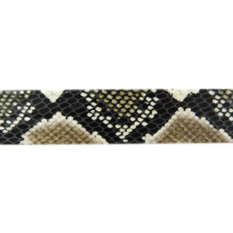 Bies estamado serpiente 25 mm.