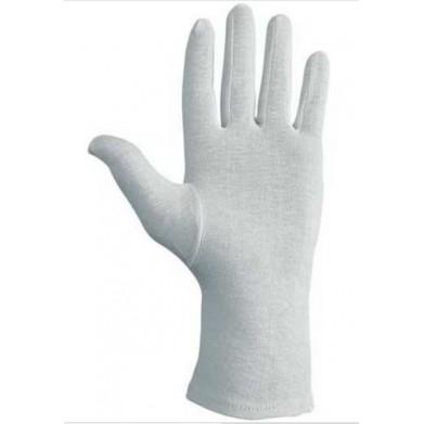 Guante algodón blanco