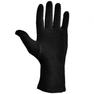 Guante algodón negro