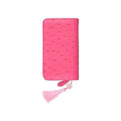 Kit estuche ganchillo rosa