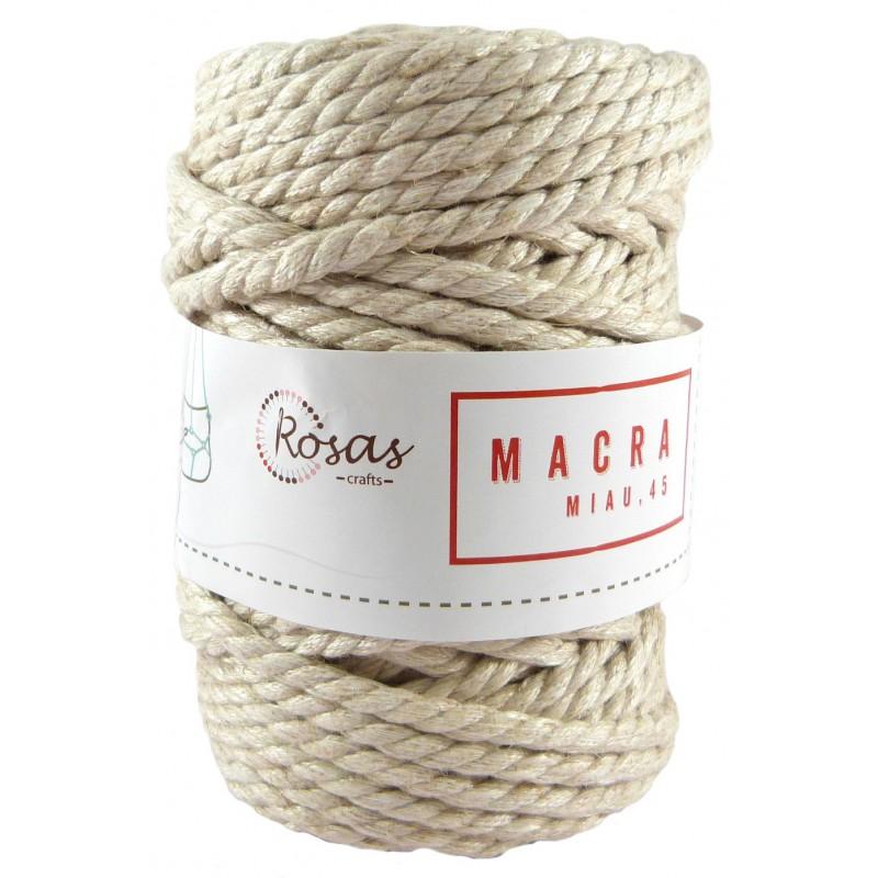 Cordón macramiau