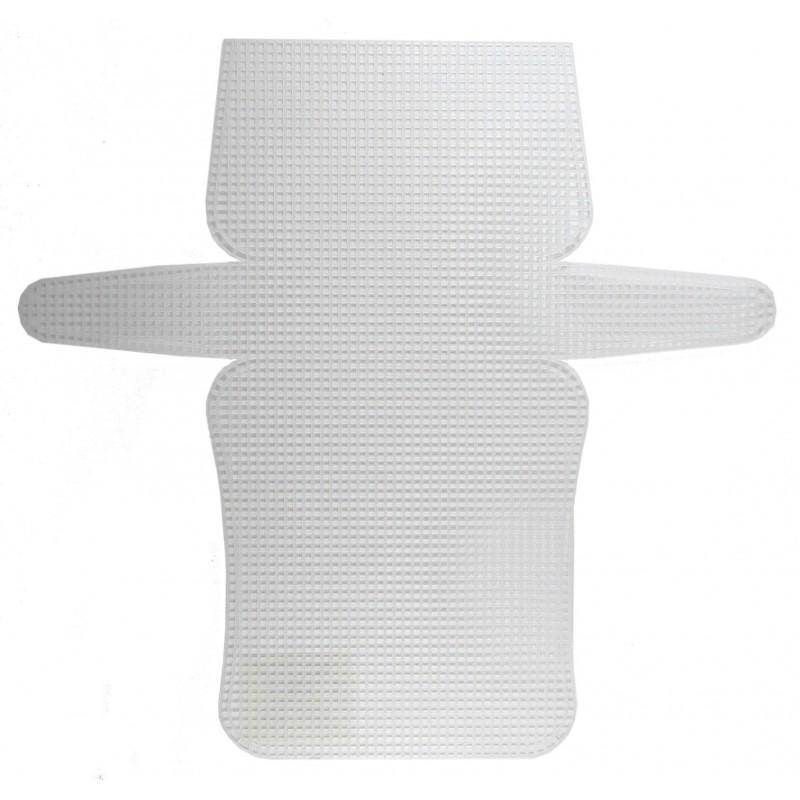 Plastic Canvas patrón clutch