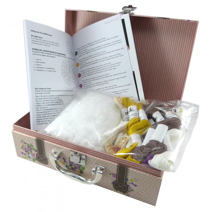kit maleta amigurumi DMC