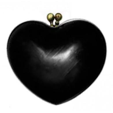 Bolso corazón para forrar 13cm