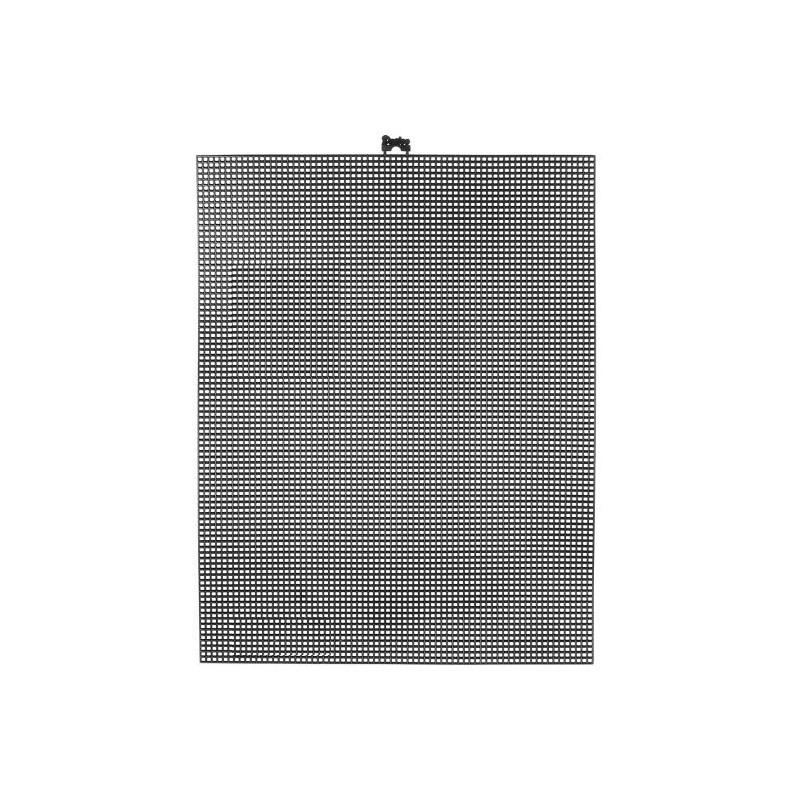 Plastic Canvas 26,7 x 34,3cm negro