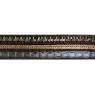 Pasamanería cuero negro 2,5 cm