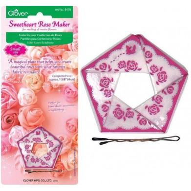 Plantillas para Confeccionar rosas 4cm (Clover)