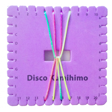 Disco Kumihimo 12cm