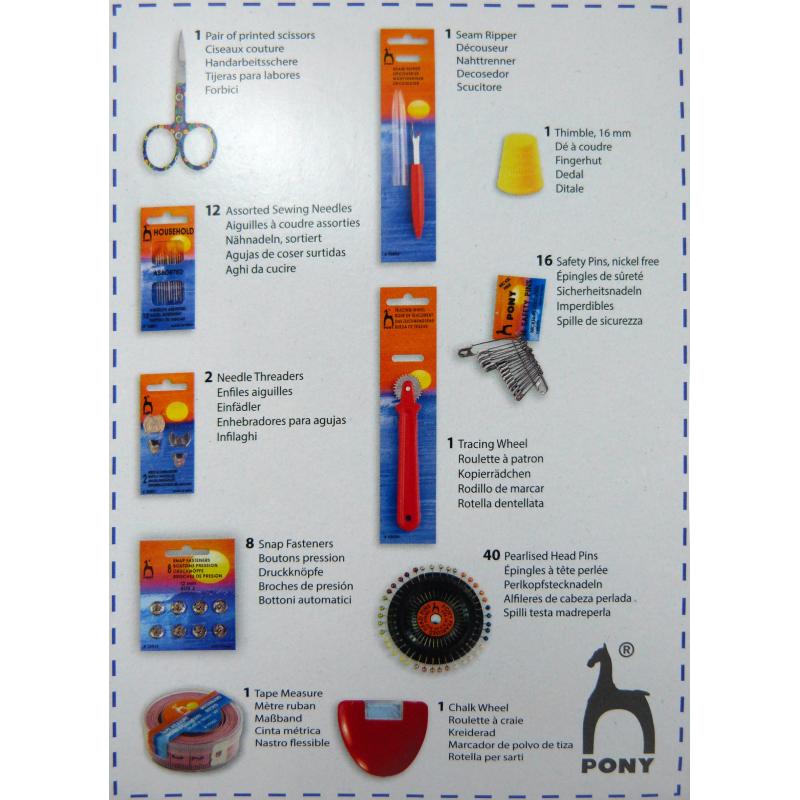 Venta de Kit básico de costura Barato - Mercería Sarabia