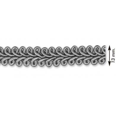 Galón seda doble 1,3cm