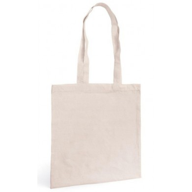 Bolsa algodón asa larga