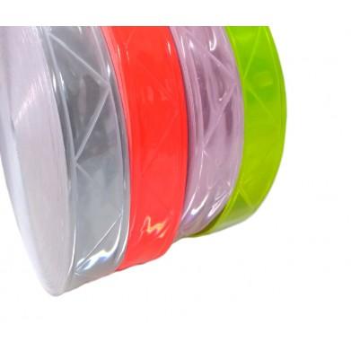 Cinta reflectante coser 25mm