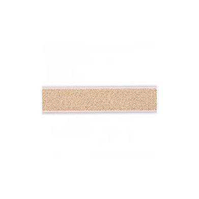 Cinta elástica oro rosa 2,5cm