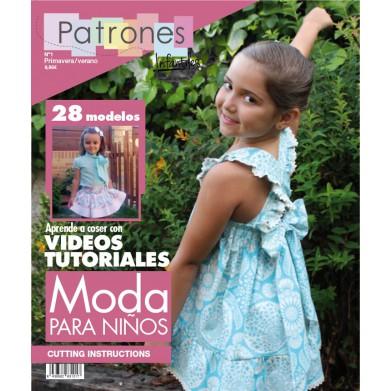 Revista Patrones de costura infantil Nº1