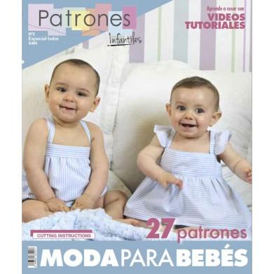 Revista Patrones de costura infantil Nº2