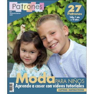 Revista Patrones de costura infantil Nº3