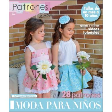 Revista Patrones de costura infantil Nº4