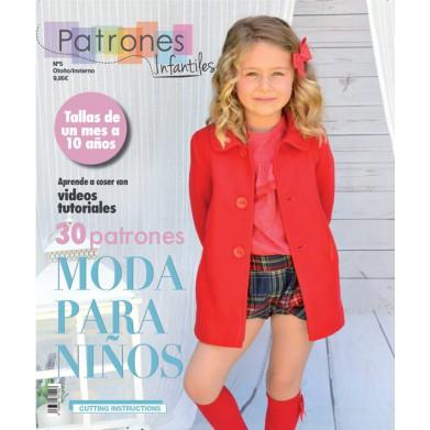Revista Patrones de costura infantil Nº5