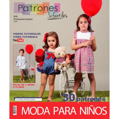 Revista Patrones de costura infantil Nº6