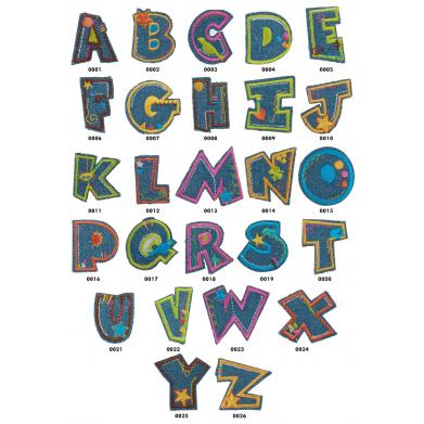 Letras termoadhesivas 3cm