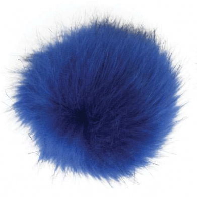 Pompón de pelo ecológico 12cm