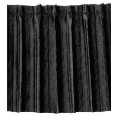 Plisado de terciopelo 7cm