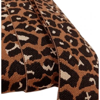 Cinta elástica leopardo...