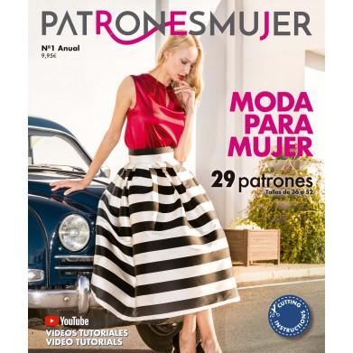 Revista Patrones mujer Nº1...