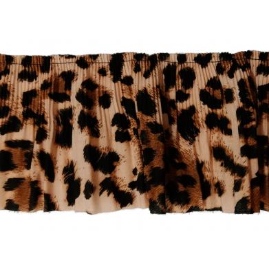 Plisado de leopardo 10cm