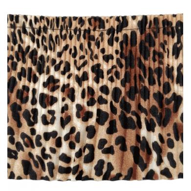 Plisado de leopardo 10cm...