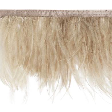 Pluma de avestruz por metro