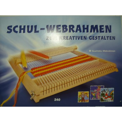 Telar de madera Schul-Webrahmen
