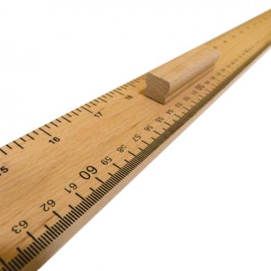 Regla de madera 1metro con...