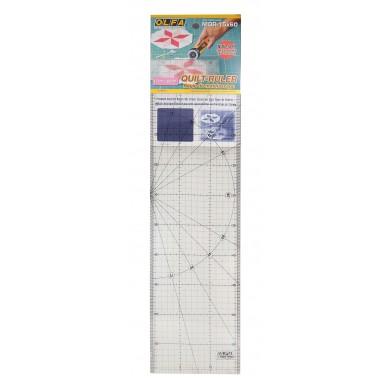 Regla patchwork 15 x 60 cm