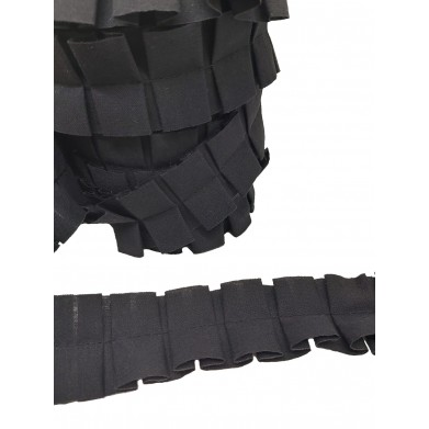 Tableado doble negro 4cm