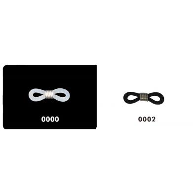 Cuelga gafas silicona (par)