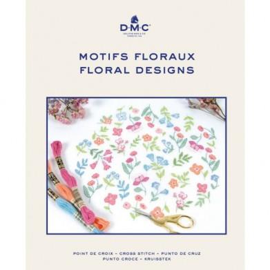 DMC patrones florales punto...