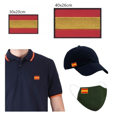 Aplique  bandera España