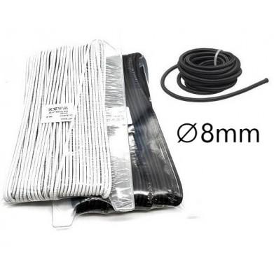 Goma cordón gruesa ∅8mm