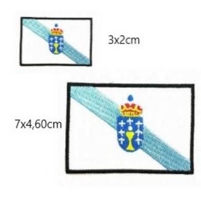 Aplique bandera Galicia