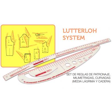 Reglas patronaje Lutterloh