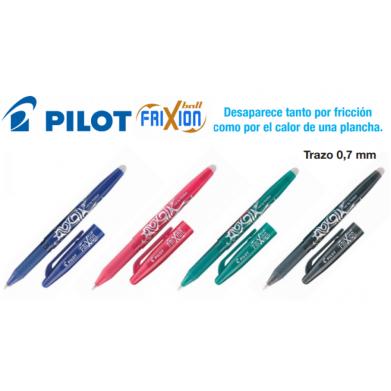 Bolígrafo Pilot Frixion