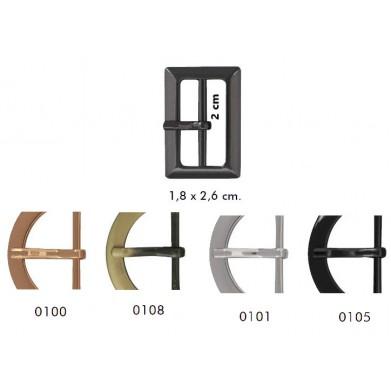 Hebilla metálica Arkansas 2cm