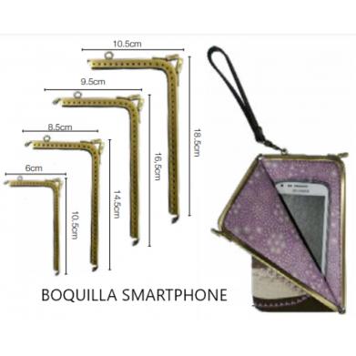 Boquilla smartphone oro viejo.